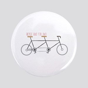 "Bicycle for Two 3.5"" Button"