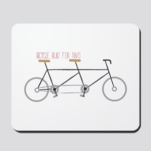 Bicycle for Two Mousepad
