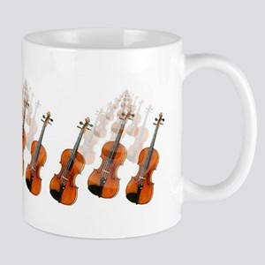 Violin Fiddle Mug  Violins forever!
