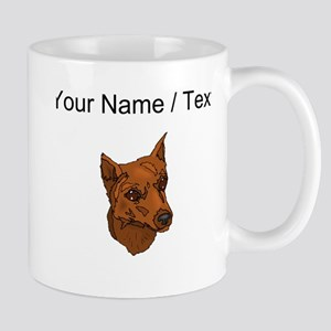 Miniature Pinscher (Custom) Mugs