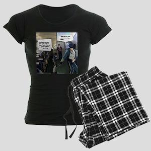 Hipster Airline Pilot Pajamas