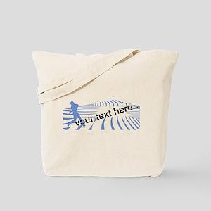 Funny Baseball Sport Tote Bag
