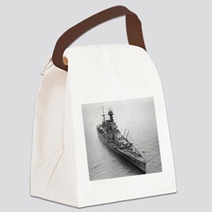 hms hood Canvas Lunch Bag