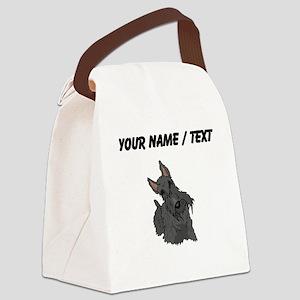 Scottish Terrier (Custom) Canvas Lunch Bag