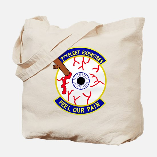 Seventh Fleet US NAVY Exercises FEEL OUR Tote Bag