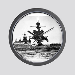 battle of the phillipines Wall Clock