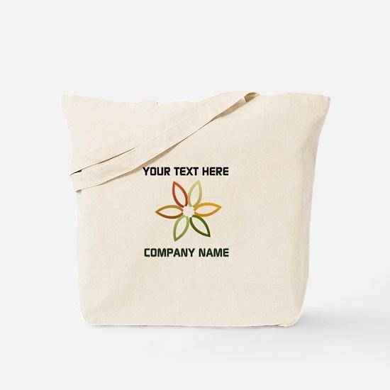 Bright Flower Logo Tote Bag