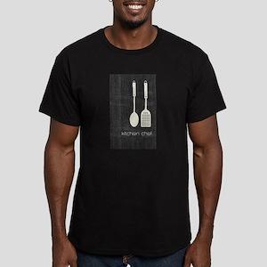 Cool Kitchen Foodie Men's Fitted T-Shirt (dark)