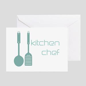 Cool Kitchen Foodie Greeting Card