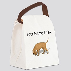 Bloodhound (Custom) Canvas Lunch Bag
