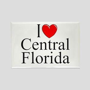 """""""I Love Central Florida"""" Rectangle Magnet"""