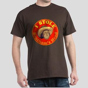 Bentham's Head (Red) Dark T-Shirt