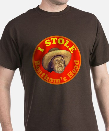 Bentham's Head (Red) T-Shirt