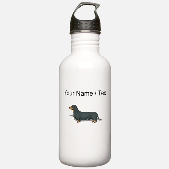 Dachshund (Custom) Water Bottle