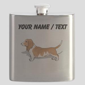 Basset Hound (Custom) Flask