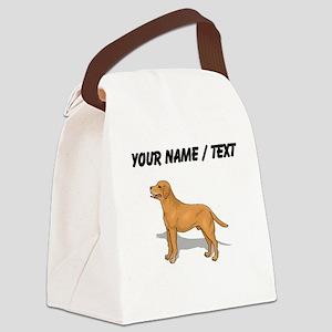 Labrador Retriever (Custom) Canvas Lunch Bag