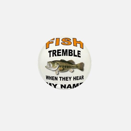 FISH TREMBLE Mini Button (10 pack)