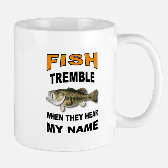 FISH TREMBLE Mugs