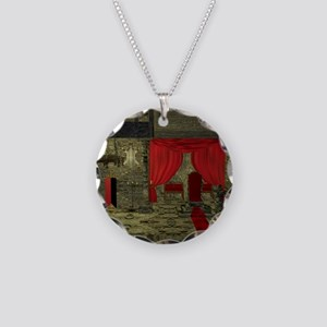 throne hall Necklace Circle Charm