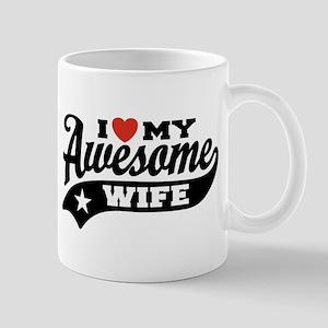 I Love My Awesome Wife Mug