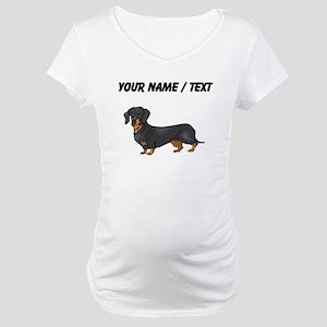 Dachshund (Custom) Maternity T-Shirt
