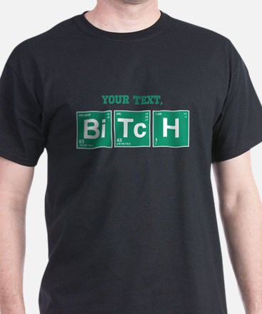 Custom Text Jesse Pinkman T-Shirt