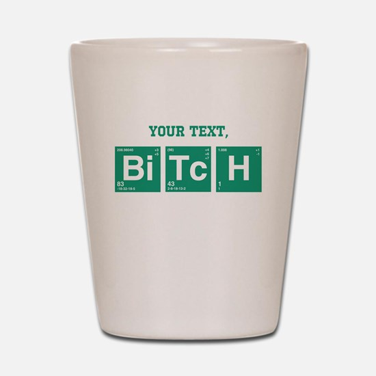 Custom Text Jesse Pinkman Shot Glass