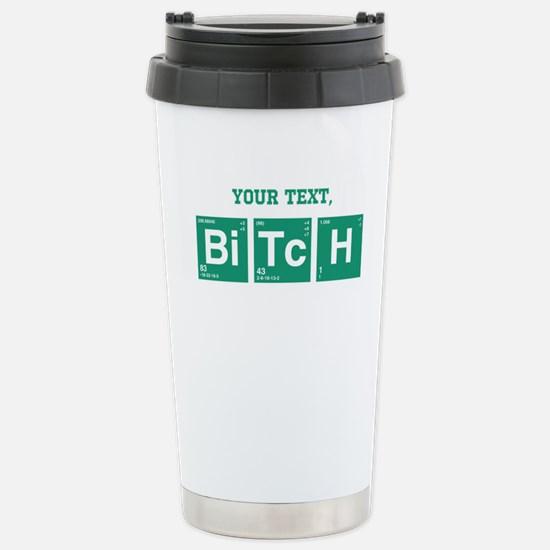 Custom Text Jesse Pinkman Travel Mug
