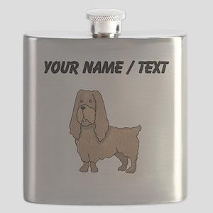 Sussex Spaniel (Custom) Flask