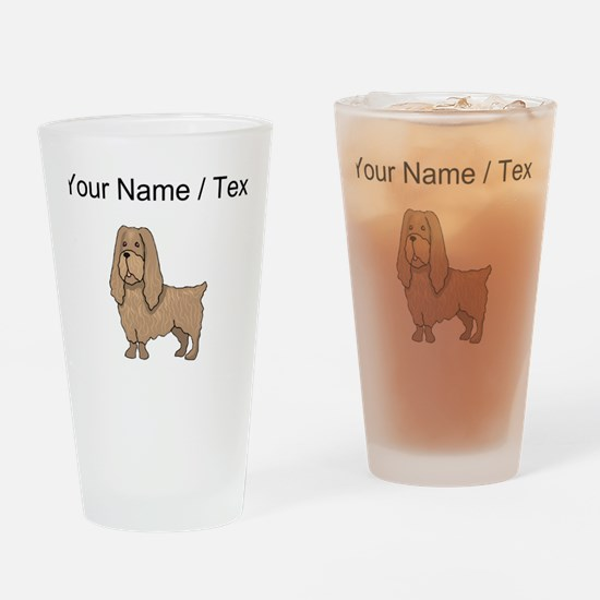 Sussex Spaniel (Custom) Drinking Glass
