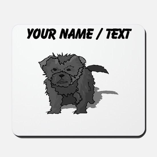 Affenpinscher Puppy (Custom) Mousepad