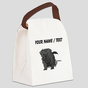Affenpinscher Puppy (Custom) Canvas Lunch Bag