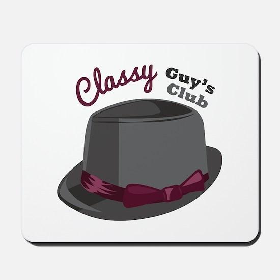 Classy Hat Mousepad
