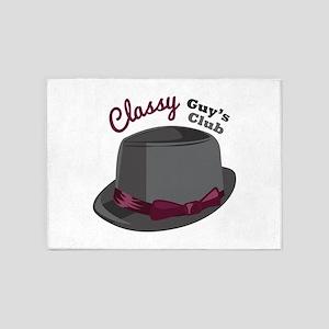 Classy Hat 5'x7'Area Rug