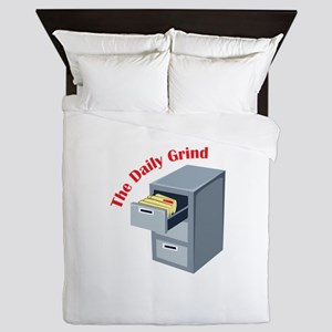 Daily Grind Queen Duvet