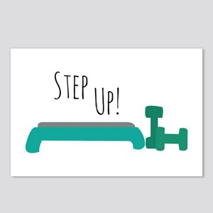 Step Up! Postcards (Package of 8)