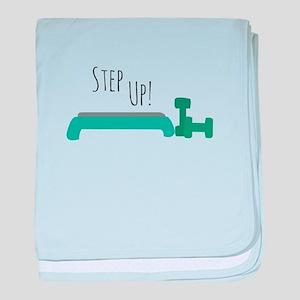 Step Up! baby blanket