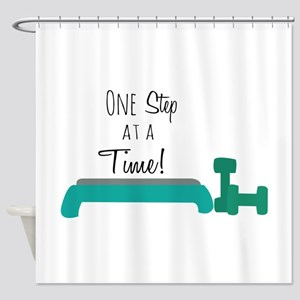 One Step Shower Curtain