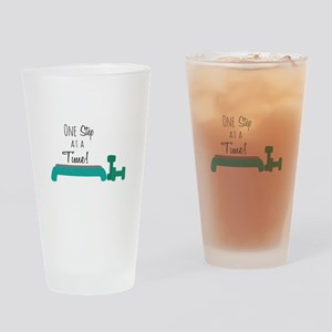 One Step Drinking Glass