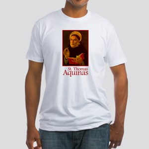 St. Thomas Aquinas Fitted T-Shirt
