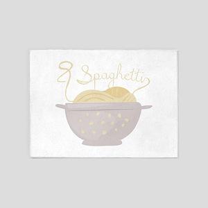 Spaghetti 5'x7'Area Rug