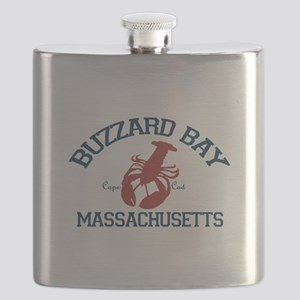Buzzards Bay - Cape Cod. Flask