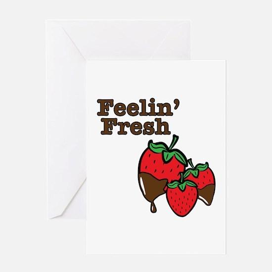 Feelin Fresh Greeting Cards