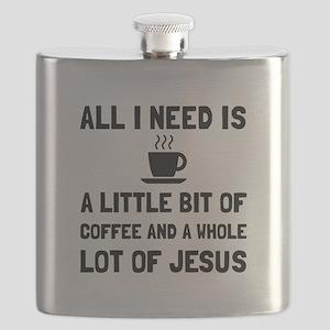 Coffee And Jesus Flask