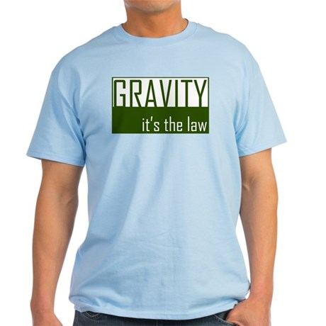 Gavity, It's The Law Light T-Shirt
