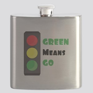 Green Means Go Flask