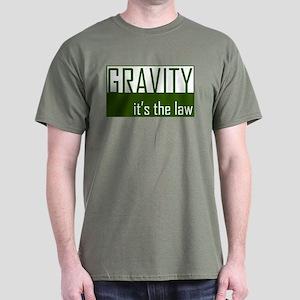 Gavity, It's The Law Dark T-Shirt