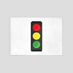 Stop Light 5'x7'Area Rug