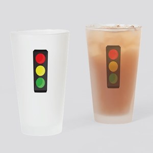 Stop Light Drinking Glass