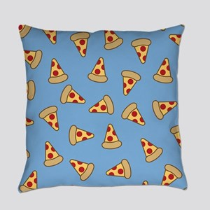 Cute Pizza Pattern Master Pillow